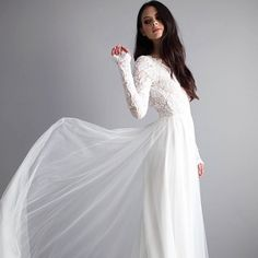 READY TO SHIP - For a very limited time we are offering our Zoey and Rory dresses in ready-to-ship alpha sizes finished to your specific length measurement. Ready-to-ship dress orders ship in 3-5 business days through the end of 2016 only. Shop the link in our bio.  #wearyourlove #destinationweddingdress #longsleeveweddingdress #winterwedding #elope #elopement #elopementwedding #bohoweddingdress #bohemianweddingdress