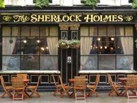 Sherlock Holmes Walking Tour of London $13.00 2 hours in duration CityDiscovery.com Sat. or Sun 11 AM Meets outside the Criterion restaurant at Piccadilly Circus