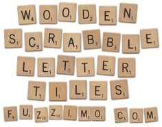Free Hi-Res Wooden Scrabble Letter Tiles. There's a total of 60 wooden letters A to Z including two blank tiles. The image is high resolution and each wooden tile (around has nice wood grain details. Printable Scrabble Tiles, Wooden Scrabble Tiles, Wooden Letters, Scrabble Crafts, Scrabble Board, Plastic Letters, Painted Letters, Scrapbooking Digital, Alphabet