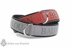 Our Custom Made KvK Dog Collar with indiv. Laser Engraving