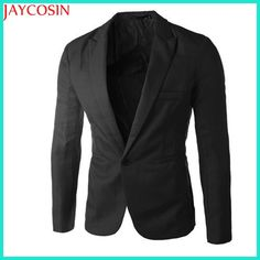 Cheap suit jacket, Buy Quality summer suit jacket directly from China jacket fashion Suppliers: 2017 Spring Autumn summer Charm Men's Casual Slim Fit One Button Suit Blazer Coat Jacket Tops Men Fashion Plaid Suit, Plaid Blazer, Blazer Jacket, Blazer Suit, Jacket Men, Suit Pants, Blazer Dress, Jacket Dress, Casual Blazer