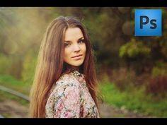 ▶ Уроки Photoshop | Обработка летней фотографии - YouTube