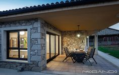Doğal taş ile kıyı evi projesi - Doğal taşlar, doğal taş evler ve doğal taş ocakları