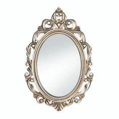Gold Royal Crown Wall Mirror  #campinglight #phonecase #Por #DressYourCase #PortablePower #DressYourYard #lamp #MakeTheSwitch
