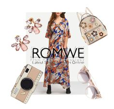 """""""ROMWE"""" by hollylightwood on Polyvore featuring Fendi, Kate Spade, Jimmy Choo and Marchesa"""