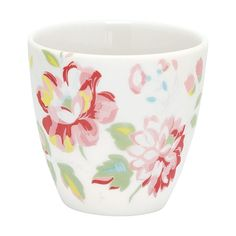 Dieser kleine Becher Amanda White versprüht maritimes Flair in ihren vier Wänden. Ob als Espressotasse oder als Blumentöpfchen, der Mini Latte Cup macht immer eine gute Figur. In verschiedenen Designs und Farben erhältlich.