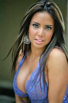 Beautiful puerto rican woman