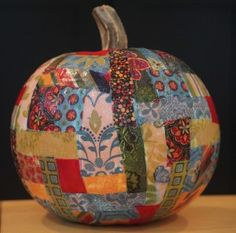 Autumn crafts seem to get more creative every year, and Glow-in-the-Dark Patchwork Pumpkins are one of the most whimsical decorations we've seen! This beautiful patchwork pumpkin will make a lovely seasonal centerpiece for your dining table, a lovely front-porch statement, or a beautiful and appropriate decoration pretty much anywhere you choose to put it. Unless you put a face on it, in fact, Patchwork Pumpkins are excellent decorations throughout the entire Fall season, not merely for a fe...