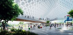 bjarke ingels group BIG thomas heatherwick google headquarters mountain view designboom