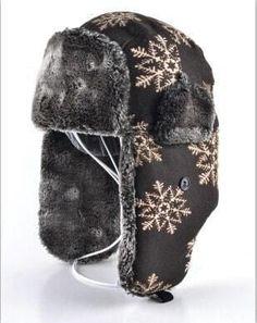 Thickened Warm Trapper Hat winter Women aviator hat Russian bomber Hat ear  flaps bomber caps Fur de4538dbf52c