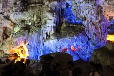 Ho Dong Tien (Fairy Lake Cave) is one of the most beautiful caves on Halong Bay. It's featured with not only charming beauty but also geological value.
