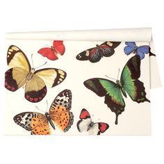 Butterflies Paper Placemats #laylagrayce