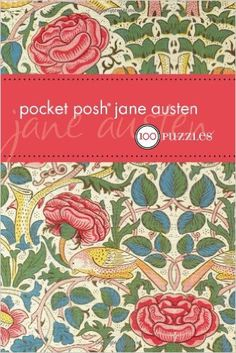 pocket puzzles, ultimate jane austen fan gift guide, gifts for her gift guide, gift ideas for her, literary gift guide, gifts for readers, 2016 Holiday Gift Guide, Celebrating Everyday Life with Jennifer Carroll
