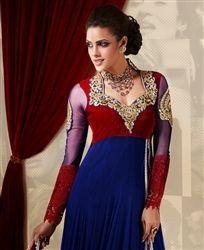 Best Online Store to shop for Anarkali Salwar Kameez. Available in Variety of Colors like Royal Blue, Green, White, Red any many Abaya Fashion, Ethnic Fashion, Fashion Wear, Indian Fashion, Lehenga Top, Anarkali, Churidar, Wedding Salwar Kameez, Bollywood Fashion