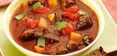Zupa węgierska Pot Roast, Yummy Food, Beef, Ethnic Recipes, Carne Asada, Meat, Roast Beef, Delicious Food, Steak
