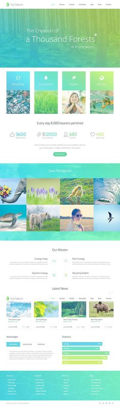 Eco Nature Ecology & Conservation WordPress Theme - WPExplorer