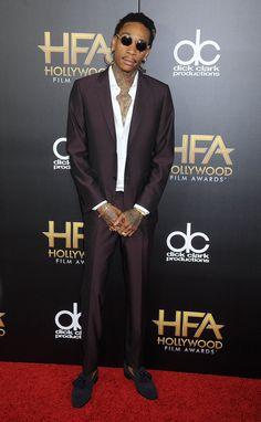 Pin for Later: La Liste des Invités des Hollywood Film Awards Était Plus Impressionnante Que Celle des Oscars Wiz Khalifa