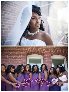 Vibrant purple wedding inspiration, photography by Rennard Photography, via Aphrodite's Wedding Blog