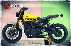 YAMAHA # FAST & SONS # XSR 900 # SPECIAL SCRAMBLER # NEW CLASSIC MOTORCYCLES # CAFE RACER