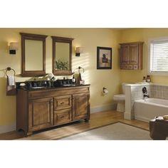 Allen Roth Bathroom Vanity allen + roth palencia espresso contemporary bathroom vanity