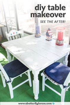 Don't make these mistakes when remodeling furniture! #DIY #DIYProjects #BeforeAndAfter #Furniture #Table #FurnitureFlips #AButterflyHouse Stripping Furniture, Diy Furniture Flip, Thrift Store Furniture, Furniture Makeover, Diy Home Decor Projects, House Projects, Garden Projects, Interior Design Guide, Paint Stripper