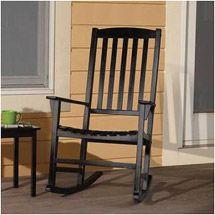 Walmart: Mainstays Outdoor Rocking Chair, Black