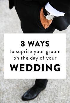 8 Ways To Surprise Your Groom On The Day Of Your Wedding
