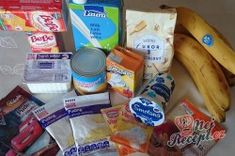 Famózní nepečené ovocné řezy | NejRecept.cz Snack Recipes, Snacks, Pop Tarts, Bread, Erika, Food, Tapas Food, Appetizer Recipes, Appetizers