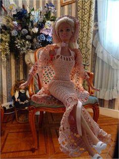 Mes créations pour Barbie ( 5 )                                                                                                                                                      More