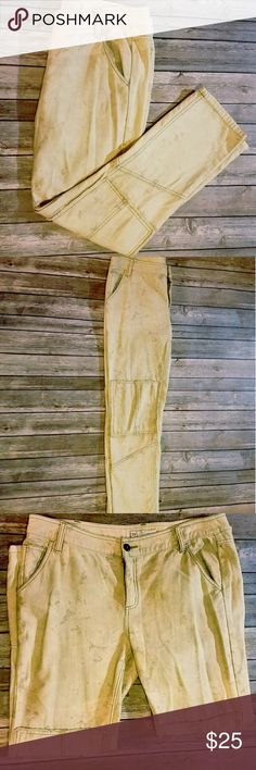 FREE PEOPLE STRETCH Stretch material Size 12 Free People Pants