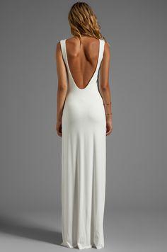 AQ/AQ Clutch Maxi Dress in Cream | REVOLVE