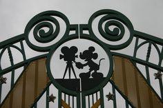 #Disneyland Paris. (not so) Hidden Mickey at the Walt Disney Studios gate #DLRP #DLP