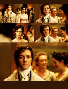 Becoming Jane (2007) - James McAvoy as Tom LeFroy & Anne Hathaway as Jane Austen