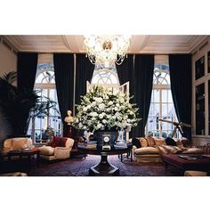 Palazzo in Milan: the elegantly appointed #PalazzoRalphLauren, introduced last season, is a private club