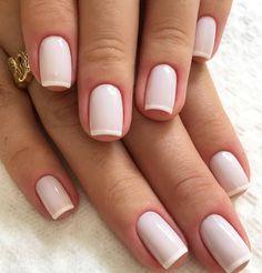 natural wedding nail art shows more beauty to the bride – Page 9 – Kornelia Nowak wedding nails Natural Wedding Nails, Natural Nails, Chic Nails, Stylish Nails, Nail Polish, Manicure And Pedicure, Nagel Blog, Bride Nails, Luxury Nails