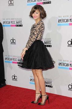 Actress Zendaya Coleman attends the American Music Awards held at Nokia Theatre L. Live on November 2012 in Los Angeles, California. Zendaya Outfits, Zendaya Style, Zendaya Swag, Zendaya Photoshoot, Zendaya Fashion, Zendaya Coleman, Celebrity Shoes, Celebrity Style, Moda Zendaya