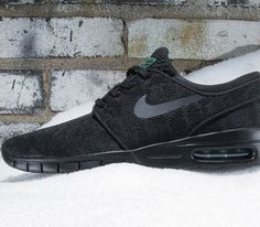 the latest 2ee6a e12b8 Nike SB Janoski Max – Black  Pine Green – Black