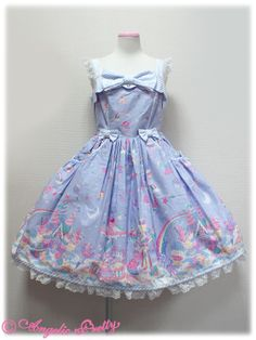 Angelic Pretty Online Shop-Jumper Skirt