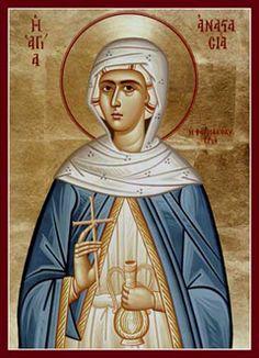 St. Anastasia of Rome - October 29