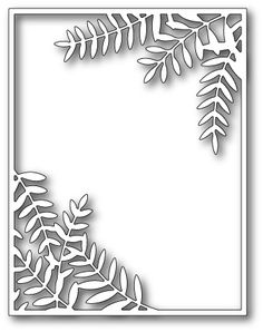 Memory Box: Poppystamps Craft Dies - Sylvan Frame - Scrapbooking Made Simple Card Making Supplies, Jewelry Making Supplies, Tree Stencil, Stencils, Origami Templates, Box Templates, Paper Art, Paper Crafts, Bargello Quilts