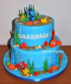 Nemo Dory cake