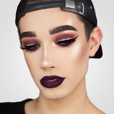 Get Inspired For Eye Makeup Tutorial James Charles Palette Looks Easy Step By Step Male Makeup, Diy Makeup, Makeup Tips, Beauty Makeup, Makeup Products, Prom Makeup, Baddie Makeup, Homecoming Makeup, Unique Makeup