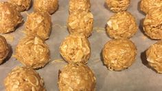 Peanut butter, oats, and coconut are formed into energy balls that are perfect for on-the-go snacking and fit into the Daniel Fast plan.