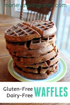 Gluten-Free, Dairy-Free Waffles
