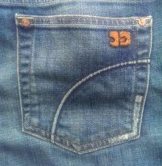 Joe's Socialite Kicker Capri Denim Jeans Women's Size 32 Medium Wash Low Rise $21.00 #JoesJeans #CapriCropped www.iiwiiMerchandise.com