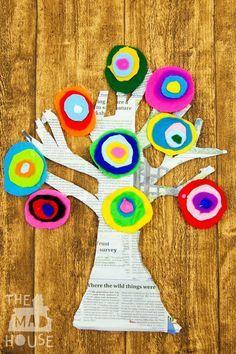Risultati immagini per gli alberi di kandinsky