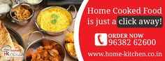 Home-kitchen.co.in, a group of home-makers introduces authentic and hygienic #homecookedfood delivery services in #Vadodara.