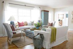 79 best White & Cream Sofa Decor images on Pinterest | Home ideas ...