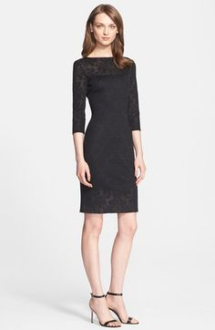 St. John Collection Jacquard Knit Dress available at #Nordstrom