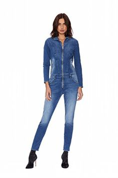 Shop trendy denim and apparel from Etienne Marcel Denim for one more day, happening this Thursday at the Cooper Building in DTLA. Denim Romper, Denim Jumpsuit, Stretch Denim, Casual Dresses For Women, Marcel, Rompers, Zip, Fashion Events, Pants